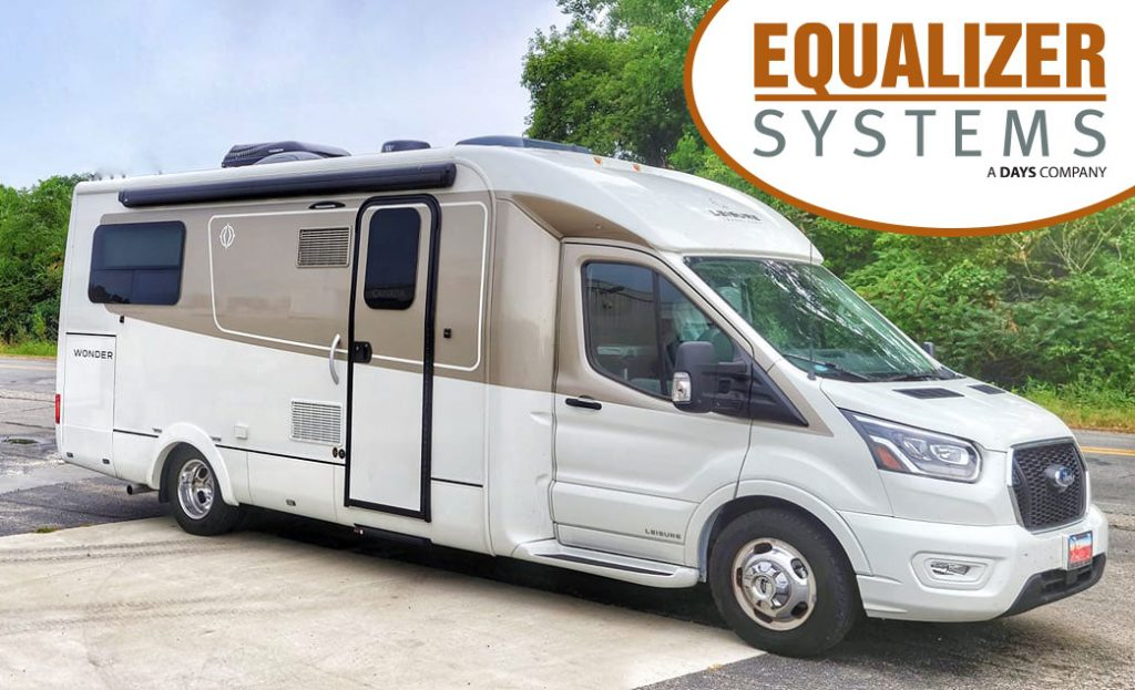 Equalizer Systems EQ Smart-Level for Ford Transit Class B+ RV's